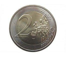 Словакия 2 евро 2011 г. (20 лет Вышеградской группе)