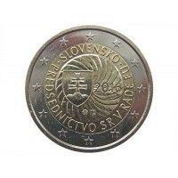 Словакия 2 евро 2016 г. (Председательство в ЕС)