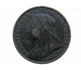 Великобритания 1 фартинг 1899 г.