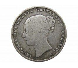 Великобритания 1 шиллинг 1861 г.