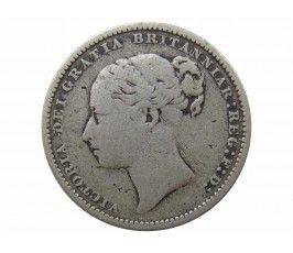 Великобритания 1 шиллинг 1884 г.