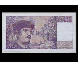 Франция 20 франков 1987 г.