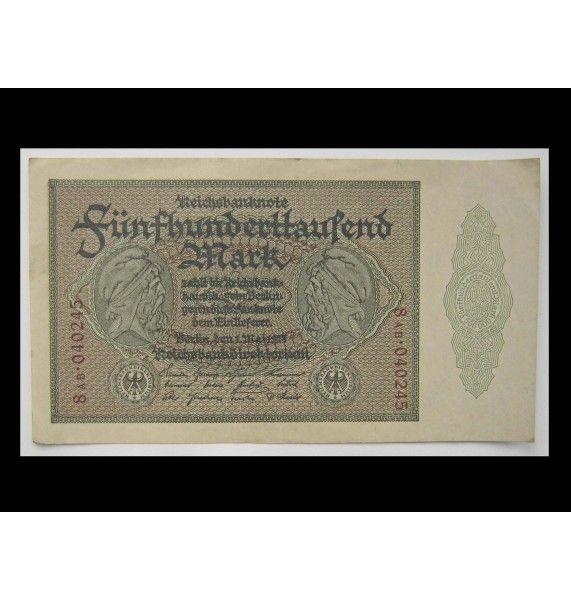 Германия 500000 марок 1923 г.