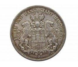 Гамбург 3 марки 1912 г.