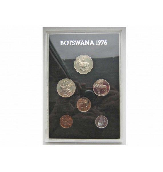 Ботсвана годовой набор (proof) 1976 г.