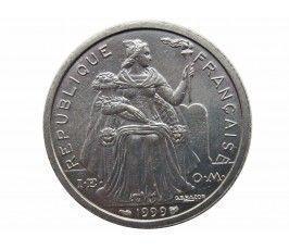 Французская Полинезия 2 франка 1999 г.