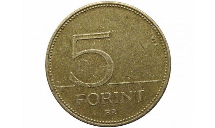 Венгрия 5 форинтов 2004 г.