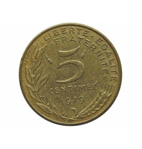 Франция 5 сантимов 1979 г.