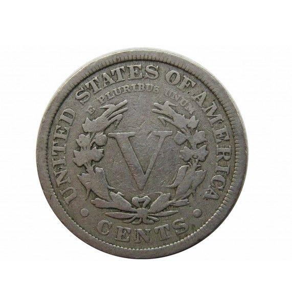 США 5 центов 1908 г.