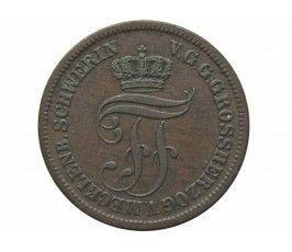 Мекленбург-Шверин 5 пфеннигов 1872 г. B