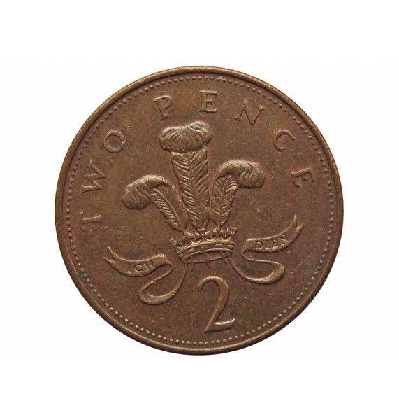 Великобритания 2 пенса 2007 г.