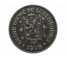 Люксембург 10 сантимов 1918 г.