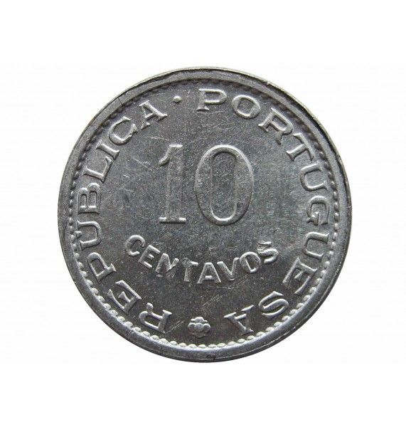 Сан-Томе и Принсипи 10 сентаво 1971 г.