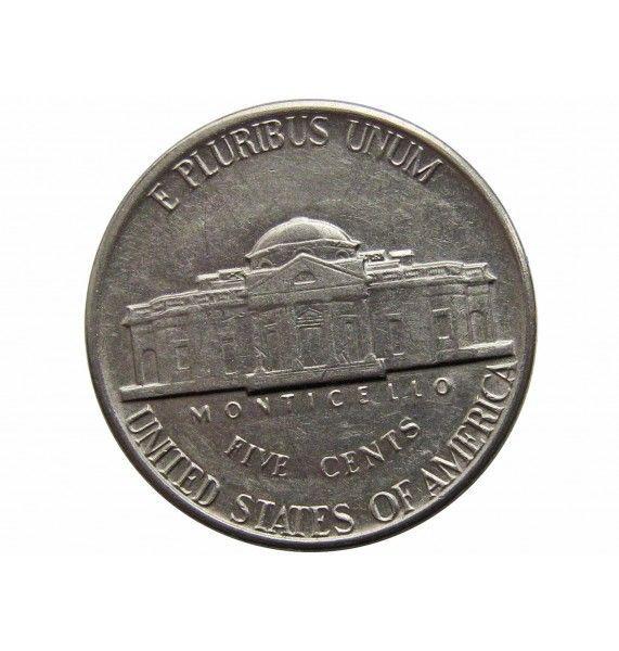 США 5 центов 1980 г. D