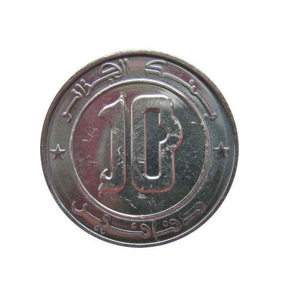 Алжир 10 динар 2018 г.