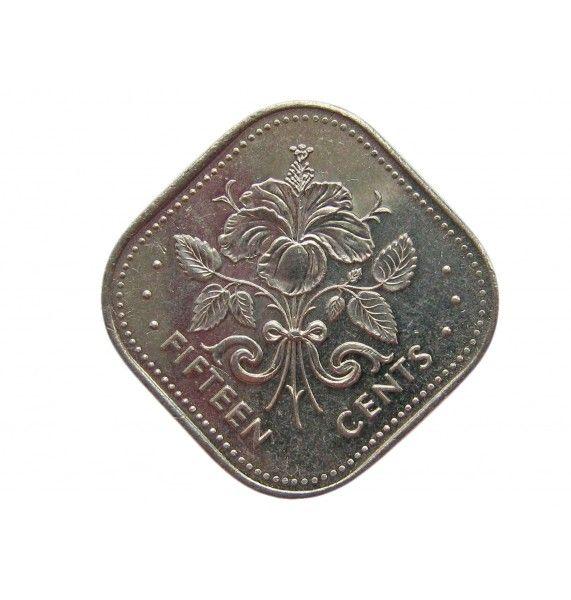 Багамы 15 центов 2005 г.