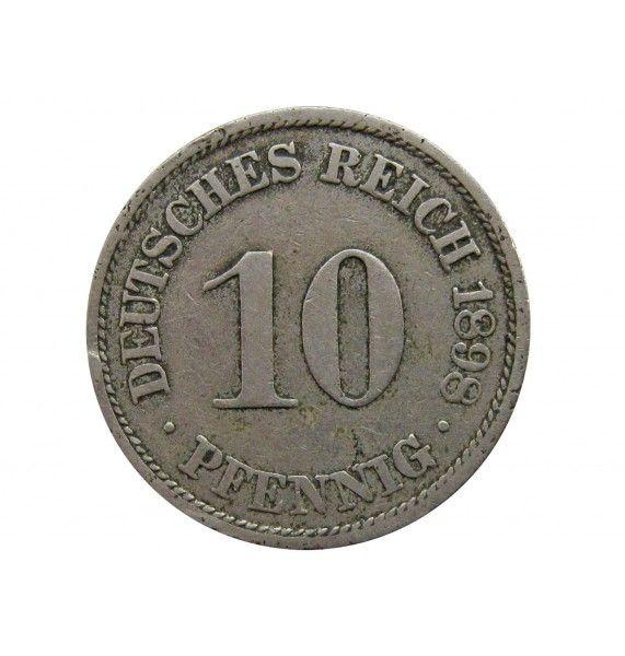 Германия 10 пфеннигов 1898 г. A