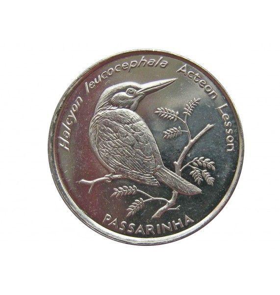 Кабо-Верде 10 эскудо 1994 г. (Сероголовая альциона)
