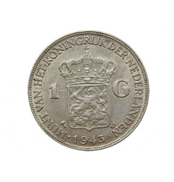 Нидерландская Восточная Индия 1 гульден 1943 г.