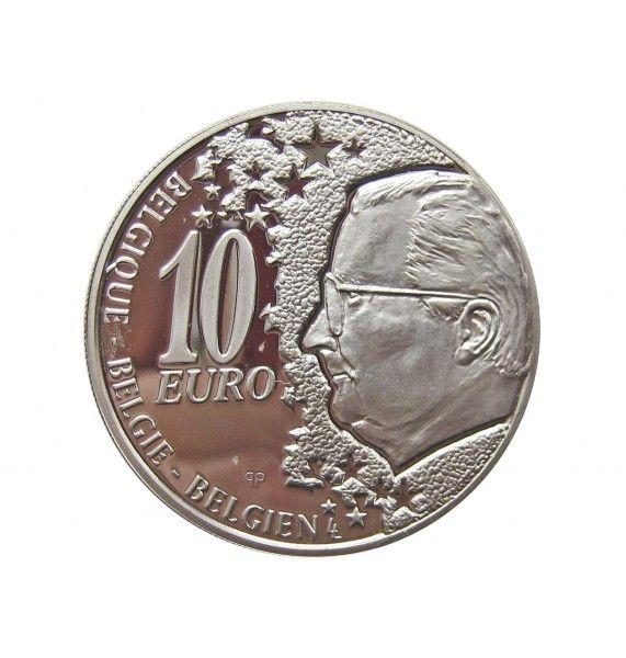 Бельгия 10 евро 2002 г. (Бельгийские железные дороги)