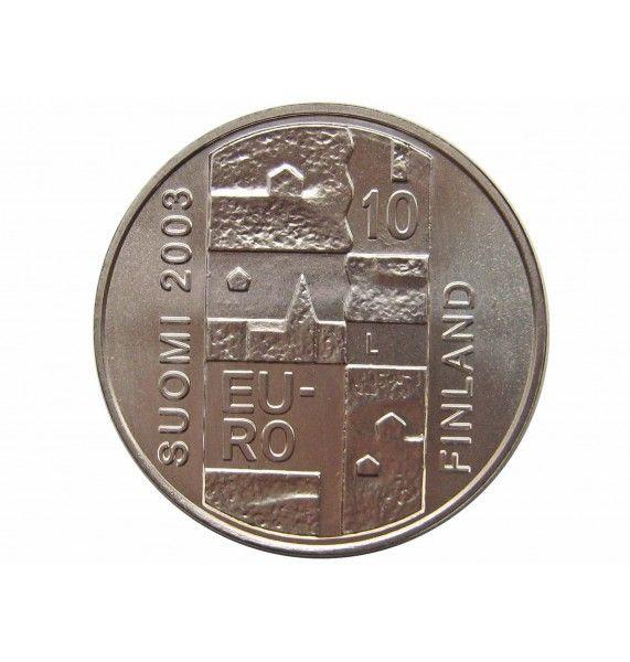 Финляндия 10 евро 2003 г. (200 лет со дня смерти Андерса Чюдениуса)