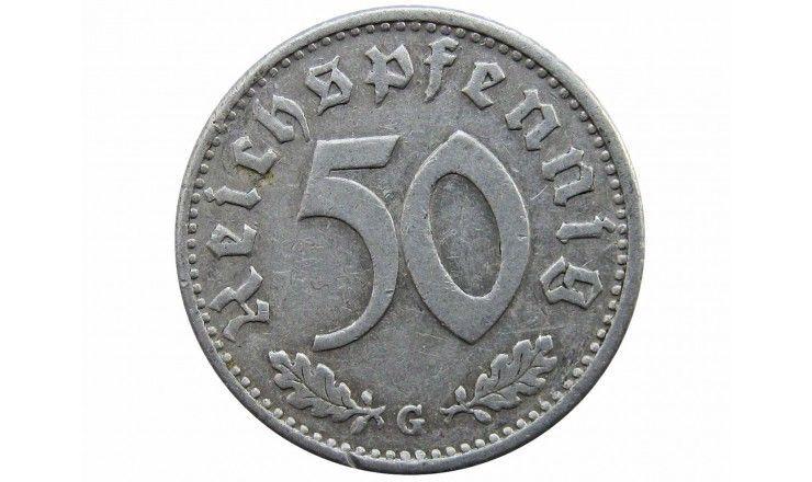 Германия 50 пфеннигов 1935 г. G