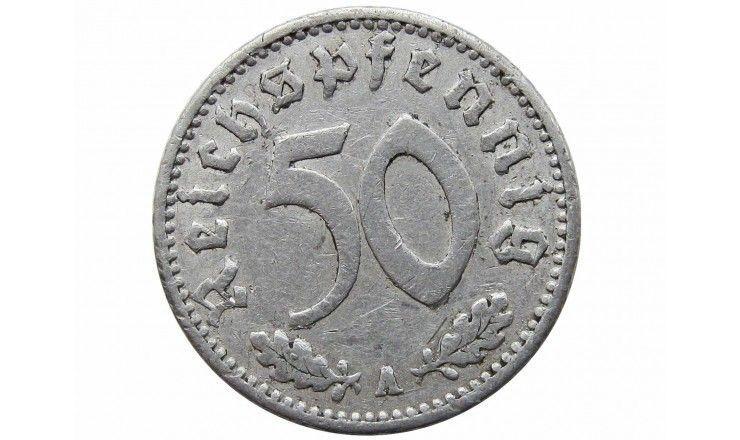 Германия 50 пфеннигов 1939 г. A