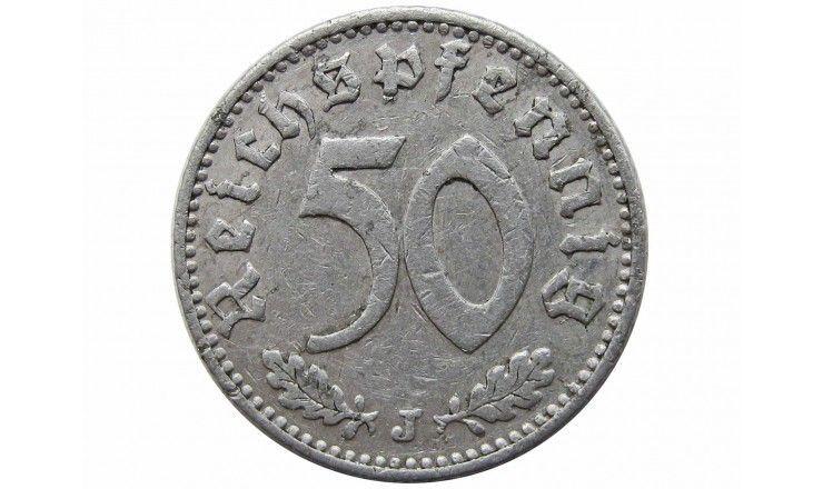 Германия 50 пфеннигов 1939 г. J