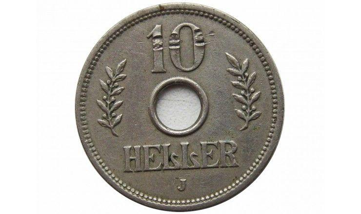 Германская Восточная Африка 10 геллеров 1909 г. J