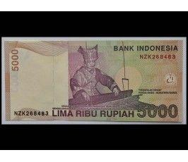 Индонезия 5000 рупий 2007 г.