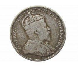 Канада 25 центов 1910 г.