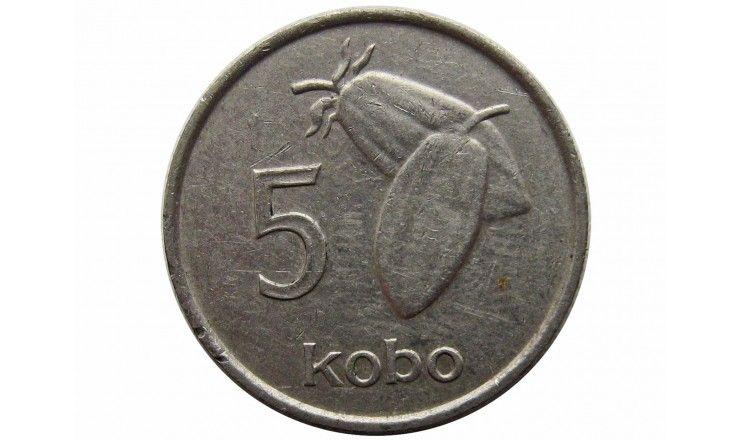 Нигерия 5 кобо 1974 г.