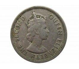 Сейшелы 1/2 рупии 1969 г.