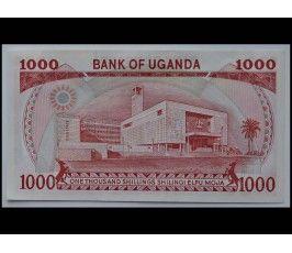 Уганда 1000 шиллингов 1986 г.
