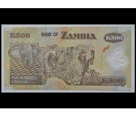 Замбия 500 квача 2008 г.