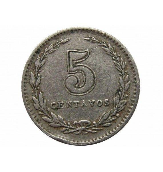 Аргентина 5 сентаво 1930 г.