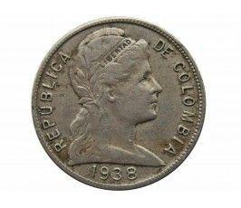 Колумбия 5 сентаво 1938 г.