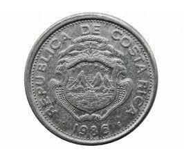 Коста-Рика 25 сентимо 1986 г.