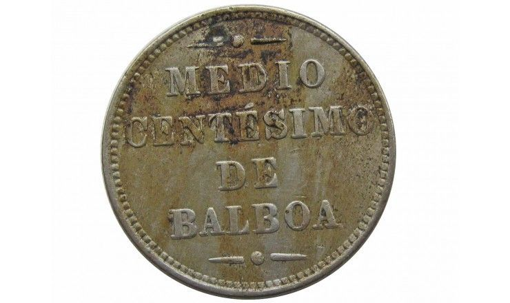 Панама 1/2 сентесимо 1907 г.