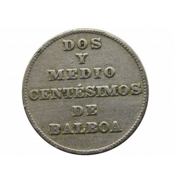Панама 2 1/2 сентесимо 1929 г.