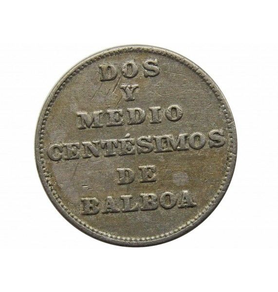 Панама 2 1/2 сентесимо 1940 г.