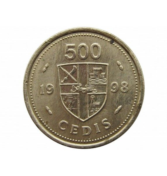 Гана 500 седи 1998 г.