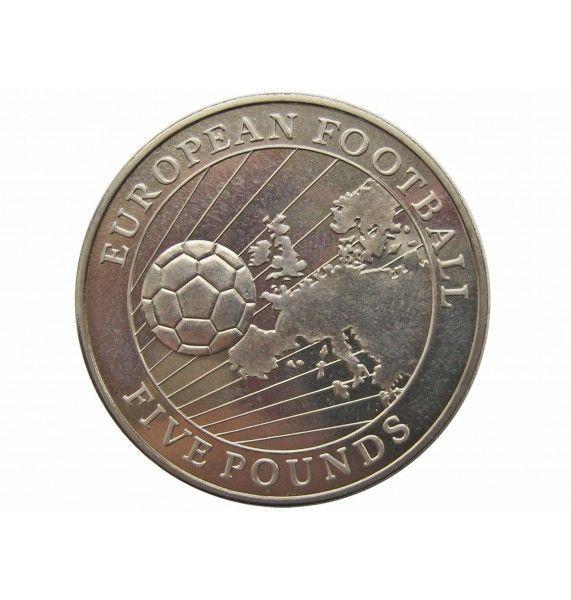 Гернси 5 фунтов 1996 г. (Чемпионат Европы по футболу 1996 г.)