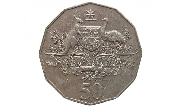 Австралия 50 центов 2001 г. (Столетие Федерации - Австралия)