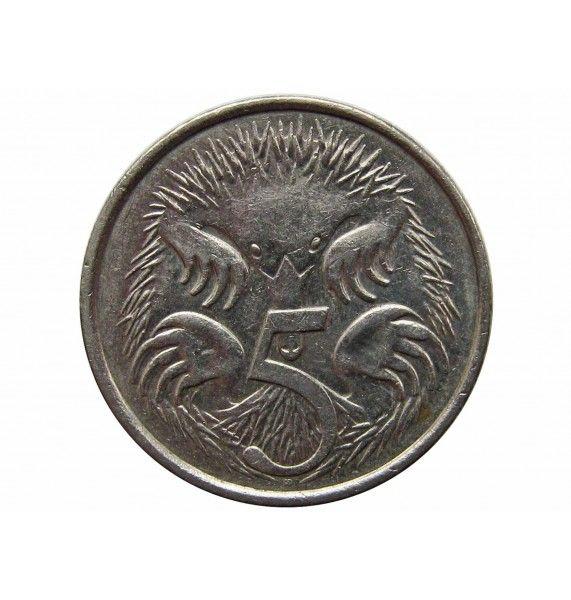 Австралия 5 центов 2010 г.