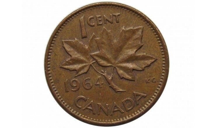 Канада 1 цент 1964 г.