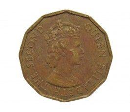 Сейшелы 10 центов 1973 г.