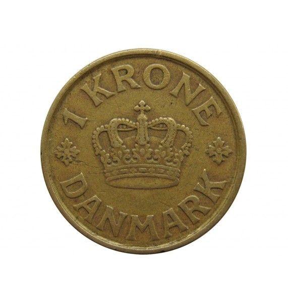 Дания 1 крона 1925 г.