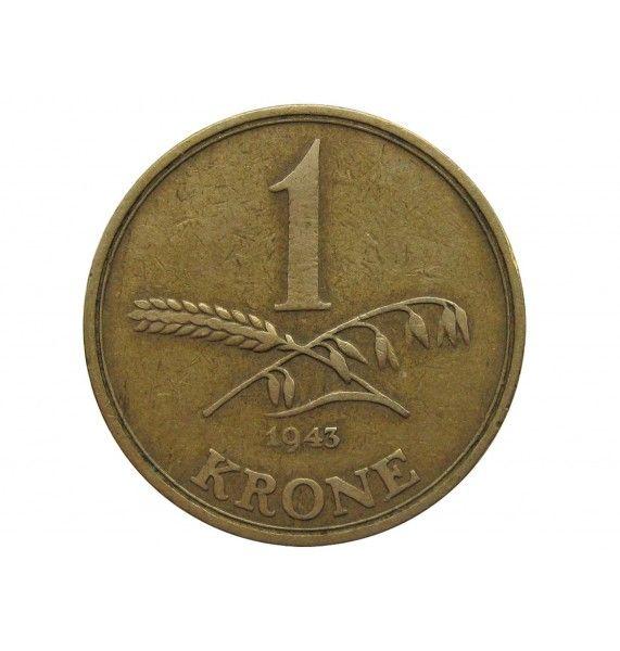 Дания 1 крона 1943 г.