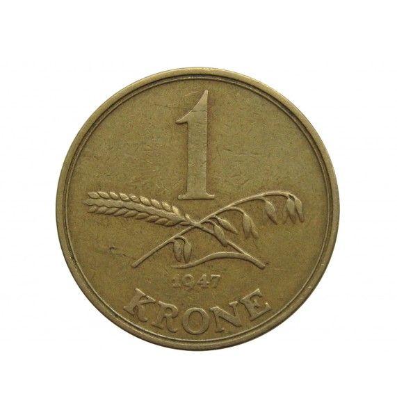 Дания 1 крона 1947 г.